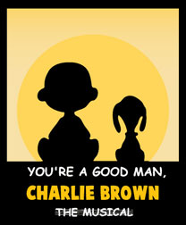 "Poster for ""You're a Good Man, Charlie Brown"""