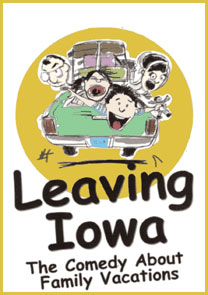 "Poster for ""Leaving Iowa"""