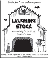 """Laughing Stock"" poster"