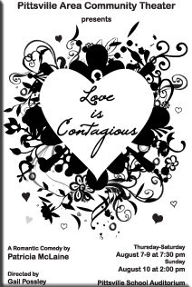 """Love is Contagious"" poster"